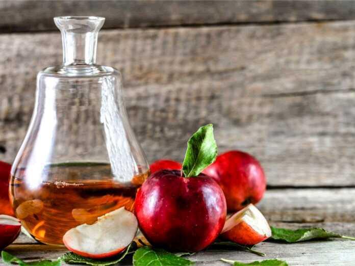 treat ED with apple cider vinegar